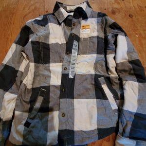 Carharrt Fleece Lined Flannel w/Pockets